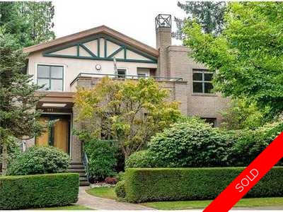 Shaughnessy House for sale:  5 bedroom 5,330 sq.ft. (Listed 2015-01-27)