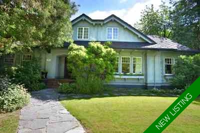 Shaughnessy House for sale:  5 bedroom 3,843 sq.ft. (Listed 2017-11-03)